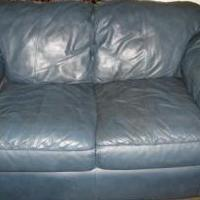Leather sofa and loveseat for sale in Otsego County NY by Garage Sale Showcase Member Aprilbrian