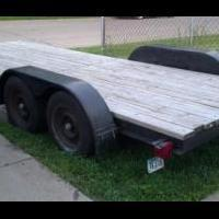 18 foot trailer! for sale in Bettendorf IA by Garage Sale Showcase Member Mkern1706