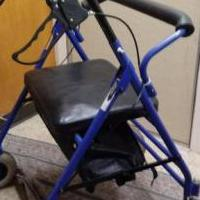 XL-Wheeled walker for sale in Stevens Point WI by Garage Sale Showcase member BigDaddyJerry1965, posted 11/21/2018