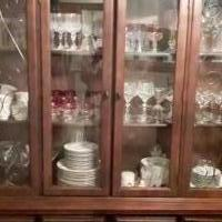 Antique China Cabinet for sale in Missouri City TX by Garage Sale Showcase member Shonesha, posted 11/23/2018