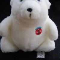 "Coca-Cola COKE POLAR BEAR 7"" Plush STUFFED ANIMAL TOY for sale in Antrim County MI by Garage Sale Showcase member 3Musketeers, posted 02/15/2019"