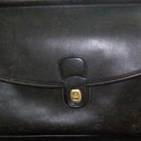 Coach Briefcase in black leather for sale in Antrim County MI by Garage Sale Showcase member 3Musketeers, posted 02/15/2019