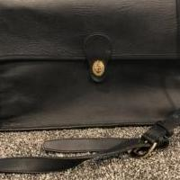 Leather (full grain) briefcase for sale in Rochester MI by Garage Sale Showcase member Lila Rene, posted 03/09/2019