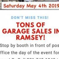 Ramsey Townwide Garage Sale for sale in Ramsey NJ by Garage Sale Showcase member TaraDennis, posted 04/10/2019