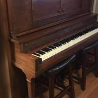 Antique player piano for sale in Midlothian TX by Garage Sale Showcase member ransan52, posted 11/07/2018