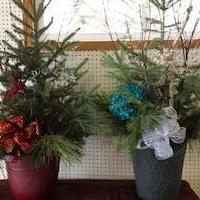 Evergreen arrangements for sale in Pine County MN by Garage Sale Showcase member DianneKorpela, posted 11/08/2018