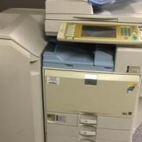 Ricoh MP C3500 Color Copier for sale in Waterford MI by Garage Sale Showcase member TCM Copiers, posted 03/25/2019