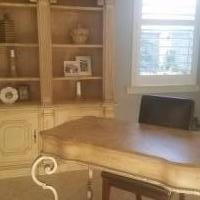Desk with Cabinet for sale in Naples FL by Garage Sale Showcase member 2huskys.st@gmail.com, posted 10/16/2018