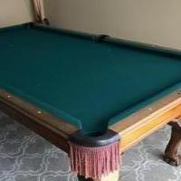 Peter Vitale Sterling 3 pc Slate Pool Table for sale in Point Pleasant Beach NJ by Garage Sale Showcase member LauraW, posted 02/22/2019