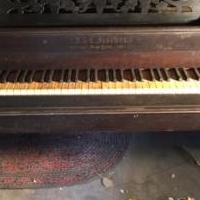 Antique Victorian Grand Square Piano for sale in East New Market MD by Garage Sale Showcase member Kbacosta, posted 03/04/2019
