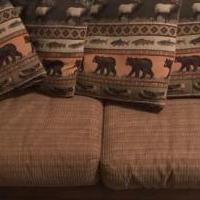 Lodge Sleeper Sofa for sale in Granby CO by Garage Sale Showcase member SolVistaForever, posted 03/18/2019