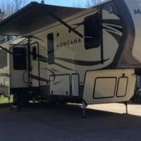 2018 Keystone Montana 3661RL for sale in Lanse MI by Garage Sale Showcase member gander, posted 02/27/2019
