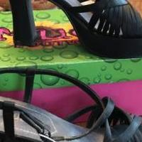 High heel sandals for sale in Edmond OK by Garage Sale Showcase member Loveshoes, posted 03/14/2019