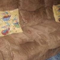 Reclining Couch for sale in Greenville OH by Garage Sale Showcase member tlc1149, posted 12/18/2018