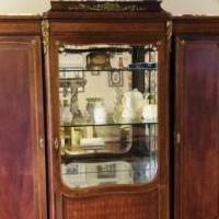 Louis XVI style China  cabinet for sale in Houston TX by Garage Sale Showcase member Cherryfig, posted 02/16/2019