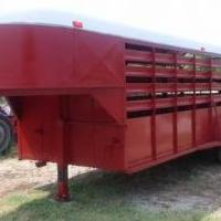 Livestock trailer for sale in Olney TX by Garage Sale Showcase member john pierce, posted 03/10/2019