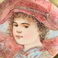 Edna Hibel Collectors plate for sale in Berwyn PA by Garage Sale Showcase member 7getitDone2, posted 04/05/2019