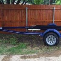 20 Ft Bayliner Boat trailer with 4 Boat Bumpers & Boat Ladder for sale in Hewitt TX by Garage Sale Showcase member Bingo2019, posted 01/20/2019