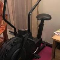 Exercise bike for sale in Fishers IN by Garage Sale Showcase member evcondra, posted 12/21/2018
