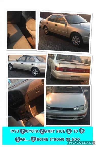 1993 Toyota camry for sale in Roanoke Rapids NC