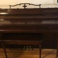 Wurlitzer Piano for sale in Wildwood NJ by Garage Sale Showcase member duffbeer4me, posted 02/24/2019