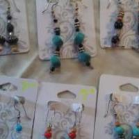 Handmade earrings for sale in Kissimmee FL by Garage Sale Showcase member Greeneyesblondie, posted 12/31/2018