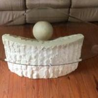 Sculptured Coffee Table for sale in Nelson County VA by Garage Sale Showcase member 1hbear, posted 02/10/2019