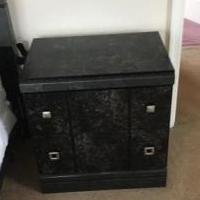 Black Night Stand for sale in Nelson County VA by Garage Sale Showcase member 1hbear, posted 02/10/2019