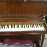 Antique upright piano for sale in Boonton NJ by Garage Sale Showcase member Dentaldonna, posted 10/12/2018