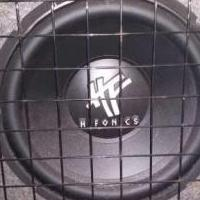 "12"" SubWoofer in Enclosure w/AMP attached for sale in Niagara Falls NY by Garage Sale Showcase member allisonj66@live.com, posted 01/18/2019"