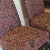 Chairs for sale in Marco Island FL by Garage Sale Showcase member jwputnam, posted 02/15/2019