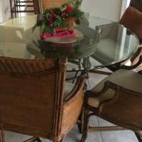 Dinette Chairs for sale in Marco Island FL by Garage Sale Showcase member jwputnam, posted 02/15/2019
