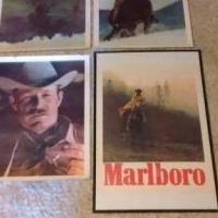 Marlboro posters for sale in Bandera County TX by Garage Sale Showcase member 45records, posted 02/20/2019