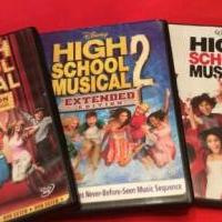 HIGH SCHOOL MUSICAL DVD's for sale in Berlin Heights OH by Garage Sale Showcase member littlehousebigwoods, posted 04/17/2020