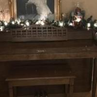 Baldwin Console Piano for sale in Benton Harbor MI by Garage Sale Showcase member BHJones349, posted 12/06/2018