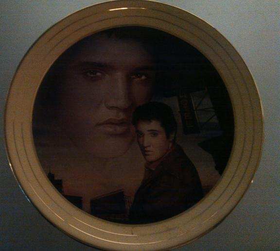 Elvis Presley Collectible Plates