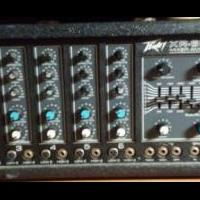 Peavey XR600B 6 Channel Mixer & Speakers for sale in Louisburg NC by Garage Sale Showcase member DCCoastToCoast, posted 12/10/2018