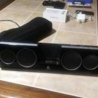 Logitech Speaker for iphone for sale in Albany OR by Garage Sale Showcase member Pegster, posted 02/17/2019