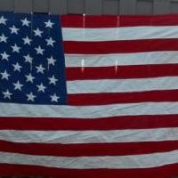 "Best 5'x9'6"" Cotton U.S. american Flag for sale in Lewiston NY by Garage Sale Showcase member kevin, posted 03/20/2019"