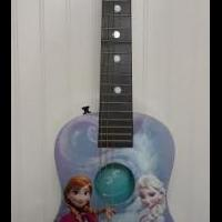 Disney Brand Frozen theme Guitar for sale in Columbus IN by Garage Sale Showcase member secondtimearound, posted 04/23/2019