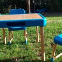 Fisher-Price Table and Chairs for sale in Columbus IN by Garage Sale Showcase member secondtimearound, posted 04/23/2019