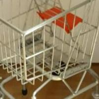 Melissa and Doug Toddler Shopping Cart for sale in Columbus IN by Garage Sale Showcase member secondtimearound, posted 04/23/2019