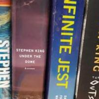 Stephen King Hardback books for sale in Columbus IN by Garage Sale Showcase member secondtimearound, posted 04/23/2019