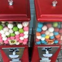 Twin Gumball Vending Machines for sale in Bonita Springs FL by Garage Sale Showcase member Top Shelf, posted 10/17/2018