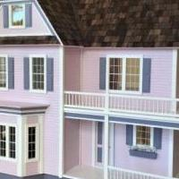 Handcrafted Collectible Oversized Dollhouse for sale in Bonita Springs FL by Garage Sale Showcase member Top Shelf, posted 10/17/2018