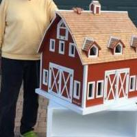 Handcrafted Toy Barn for sale in Bonita Springs FL by Garage Sale Showcase member Top Shelf, posted 10/17/2018