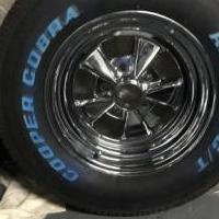 4 new Goodyear COBRA tires and rims for sale in Kersey PA by Garage Sale Showcase member Kittycat, posted 09/12/2019