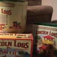 Lincoln logs for sale in Shamokin PA by Garage Sale Showcase member Speedyjoe2009, posted 02/07/2019
