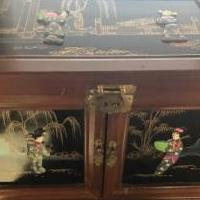 Chinese chest/jewelry box for sale in Greene County NY by Garage Sale Showcase member Maywest1, posted 01/30/2019