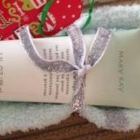 Mary Kay Mint Energizing Lotion and Slipper Socks for sale in Trempealeau County WI by Garage Sale Showcase member Ebecker1234, posted 11/17/2018